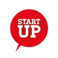 Startup flat design