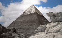 Silver pyramids