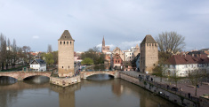 panoramic Strasbourg scenery