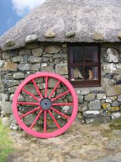 Old house on Isle of Skye