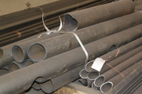 Metal profiles pipe