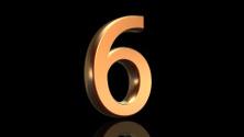 Number six, sixth anniversary