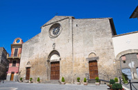 Church of St. Giovanni Battista. Tarquinia. Lazio. Italy.