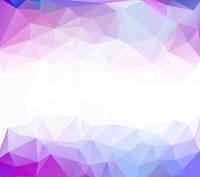 Blue White Light Polygonal Mosaic Background,    Business Design