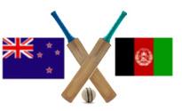 New Zealand VS Afghanistan