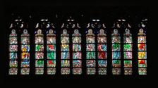 window of Notre Dame