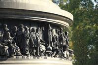 Russia - Velikiy Novgorod: Bronze monument