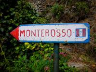 Sign to Corniglia, Italy in Cinque Terre