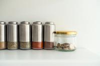 money jar in kitchen