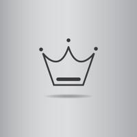crown vector illustration eps10