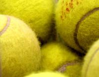 tennis balls (macro)