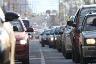 traffic congestion Russia