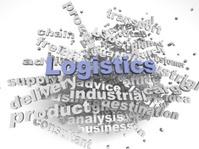 3d imagen Logistics  issues concept word cloud background