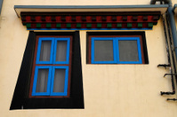 Tibetan style windows