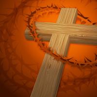 Crucifixion Cross Wood Type