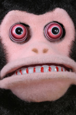 Vintage scary monkey face