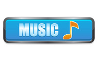 Music note interface button