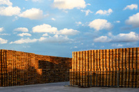 Warehouses for pallets