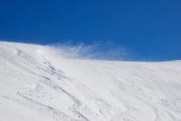 Wind in mountain