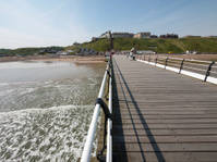 the pier, Saltburn,  North Yorkshire coast, britain
