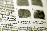 Defining fingerprints in the Dictionary