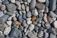 pebbles of different colours
