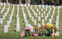 Iraq War Gravestones