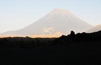 Shadow at base of Volcano