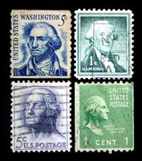 George Washington Postage Stamps
