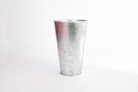 aluminium large vase