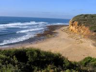 Beach along the Great Ocean Road Australia