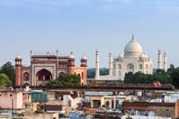 Taj Mahal, Agra city