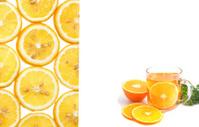orange tea with Parsley