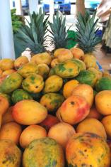 Mangos in Caribbean market