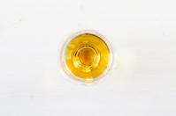 Glass of cognac, brandy