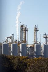 Oil refinery plant c