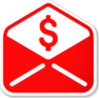 spam e-mail sticker