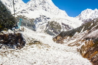Mt. Gongga(Minya Konka) No.1 Glacier close-up