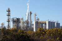 Oil refinery plant b