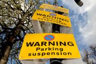Parking suspension