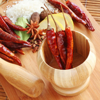 Assorted Spices used in Asian Cooking
