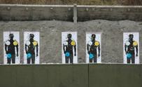 Target at a shooting range