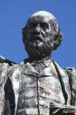 Statue of Alexander Balfour, St John's Gardens, Liverpool