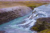 Gullfoss Waterfall, southern part of Iceland