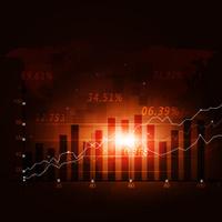 StockFinance Diagram Background