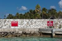 Private Property No Trespasing warning sign