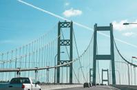 Tacoma, Washington,  Narrows Bridge Drivers View On Bridge