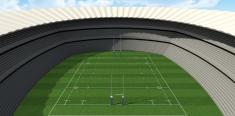 Rugby Stadium Day