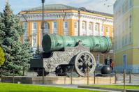King Cannon (Tsar Cannon) in Moscow Kremlin