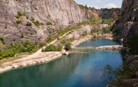Abandoned quarry Velka Amerika, Czech Republic